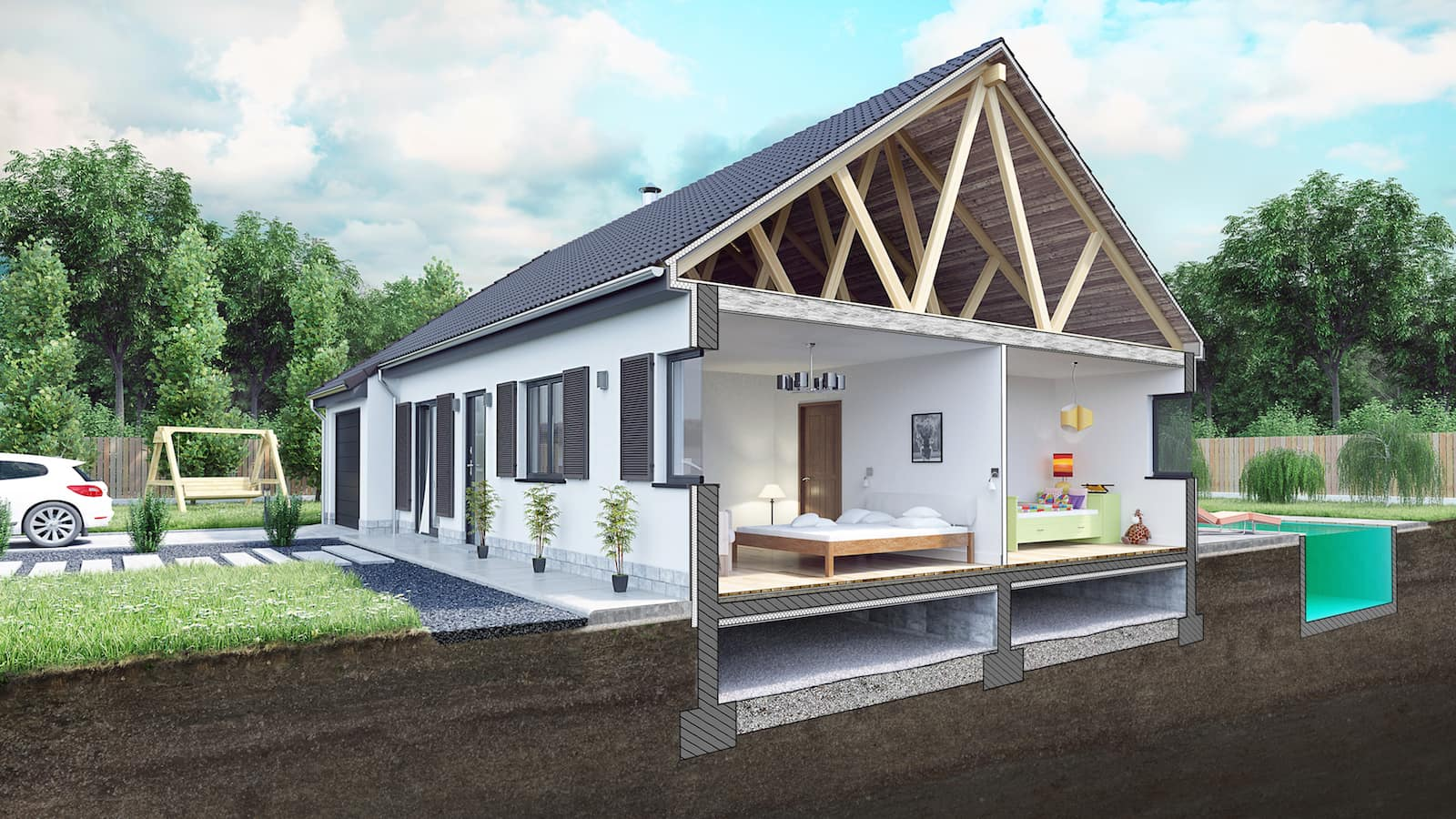 Plansfr Plan Et Modèle De Maisons Gratuit