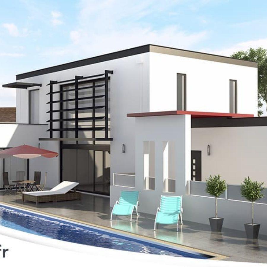 Maison Contemporaine Plans Et Modeles