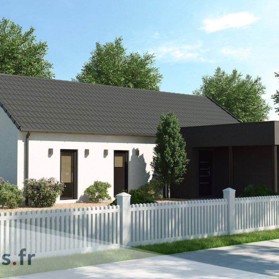 Plan Maison De 110 M2