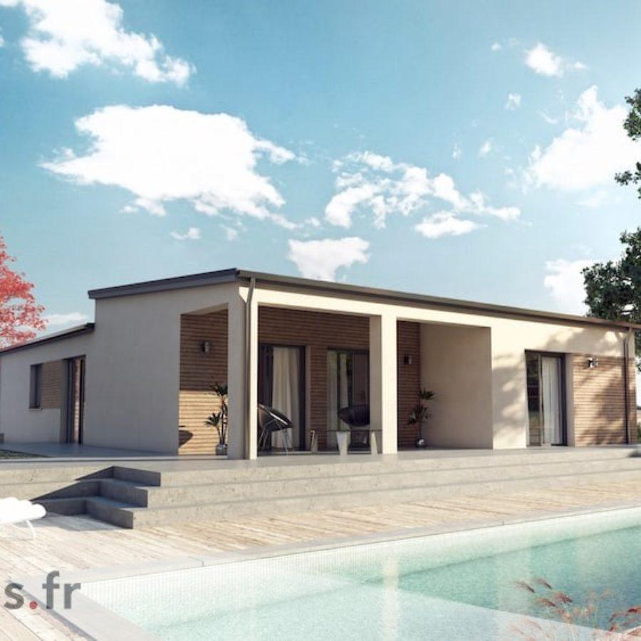 Audacieuse Plan maison de 140 m2 IR-45
