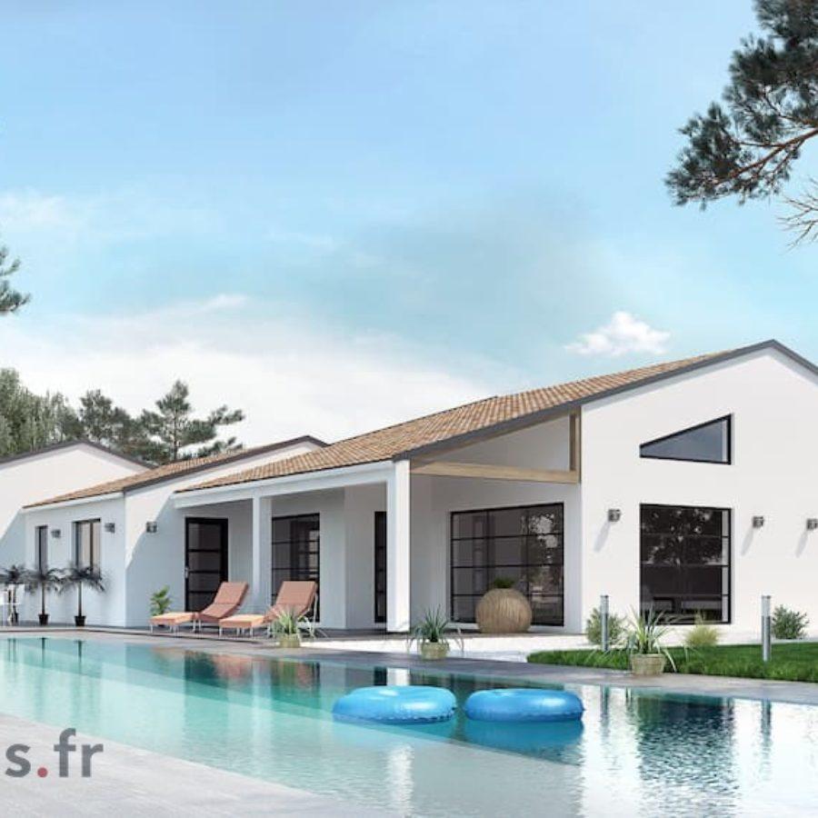 Fantastique Plan maison de 140 m2 ZB-11