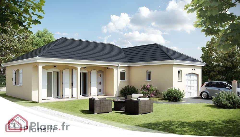 Maison Traditionnelle  Plans et Modèles
