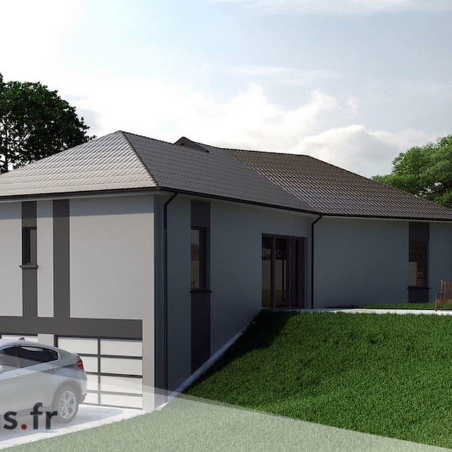 Plan Maison Garage Souterrain