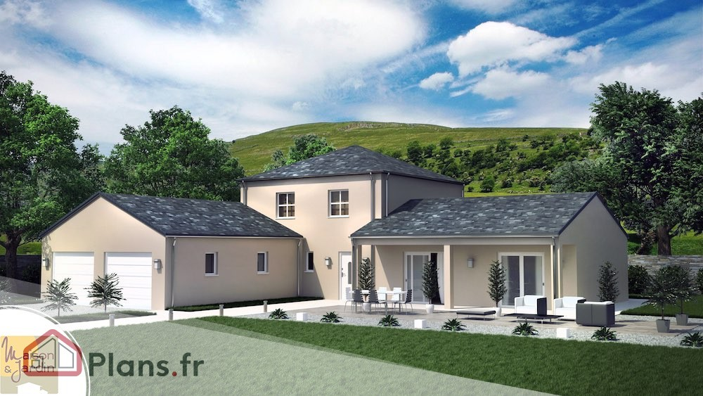 Plan Maison Victoria