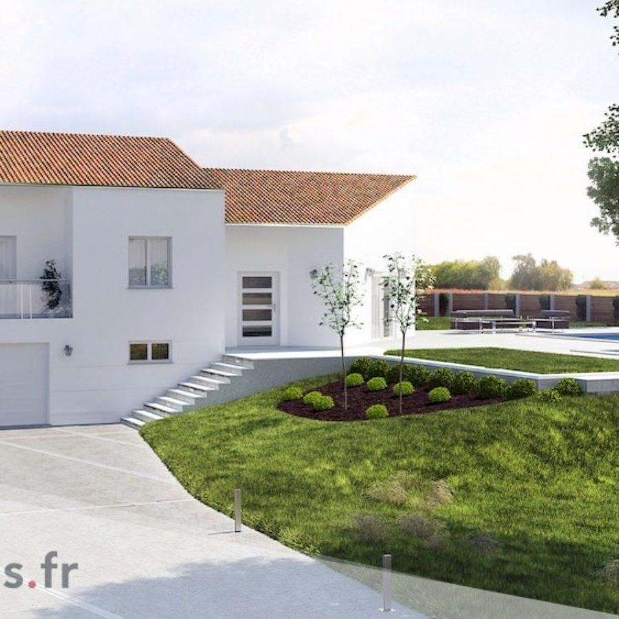 Terrain En Pente Plans De Maisons