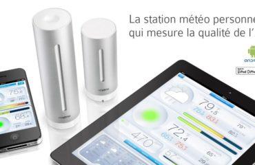 Une station météorologique connectée avec votre maison