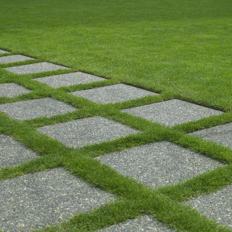 Allee de jardin en pierre