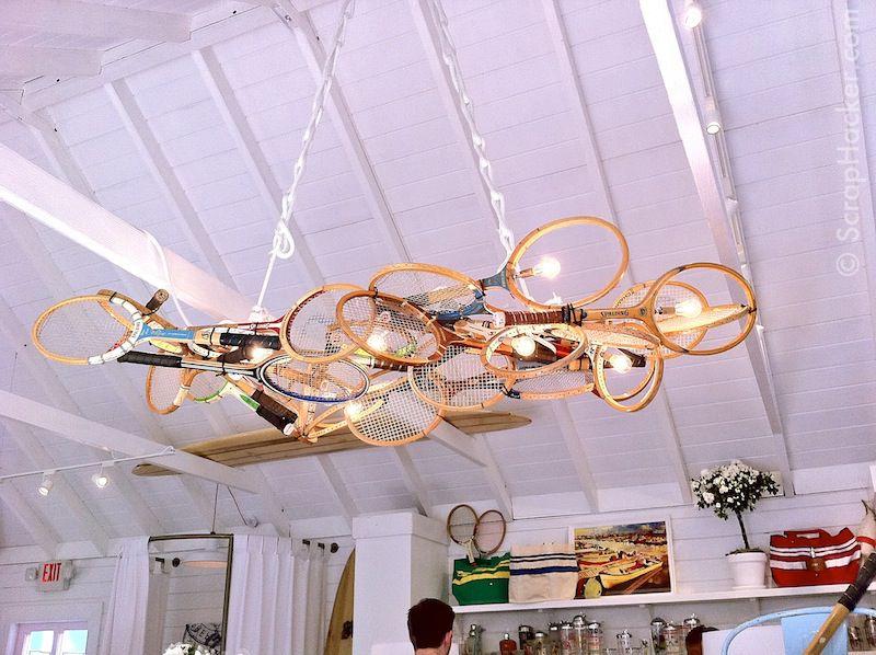 Deco plafond objets inutilisés