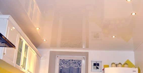 Plafond peinture laquee