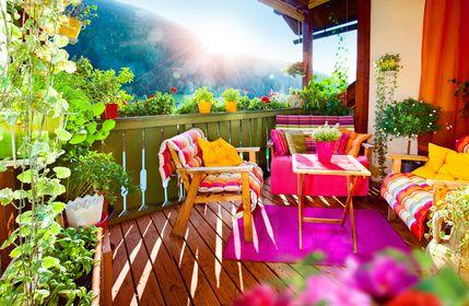 aménager et décorer son balcon