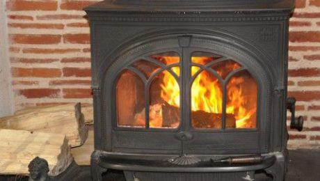 Un système de chauffage au bois