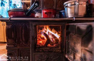 cuisine feu de bois