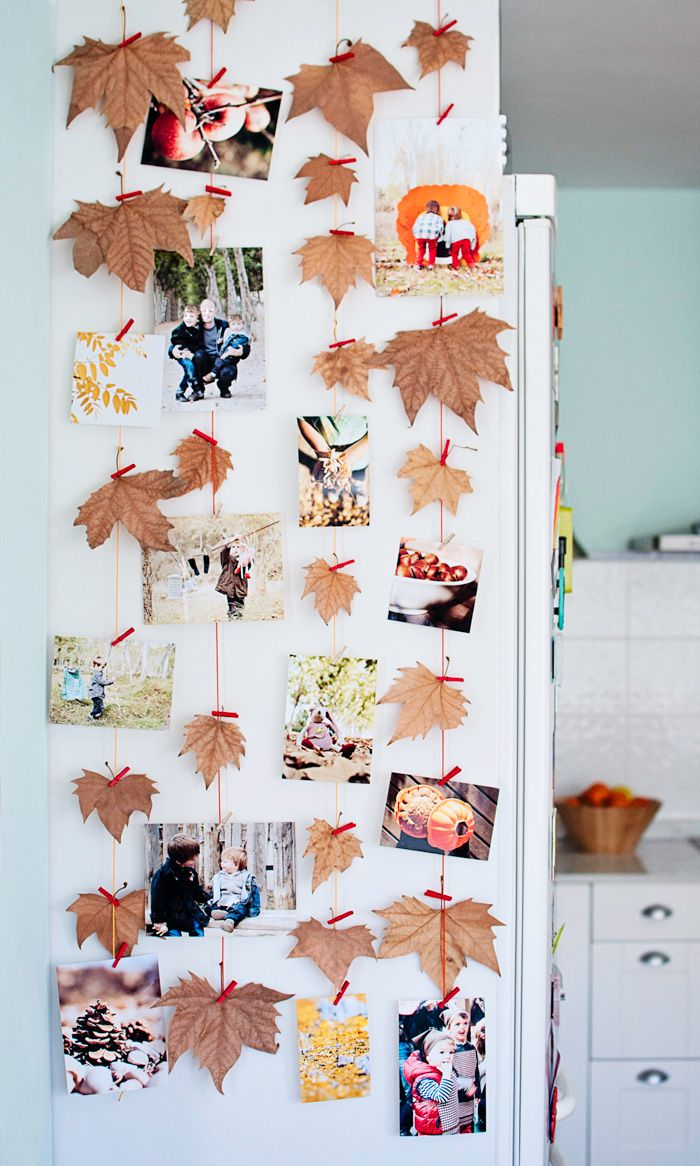 Déco DIY pinces à linge photos