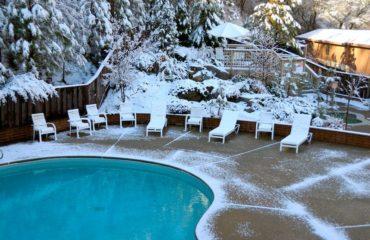 entretenir sa piscine en hiver