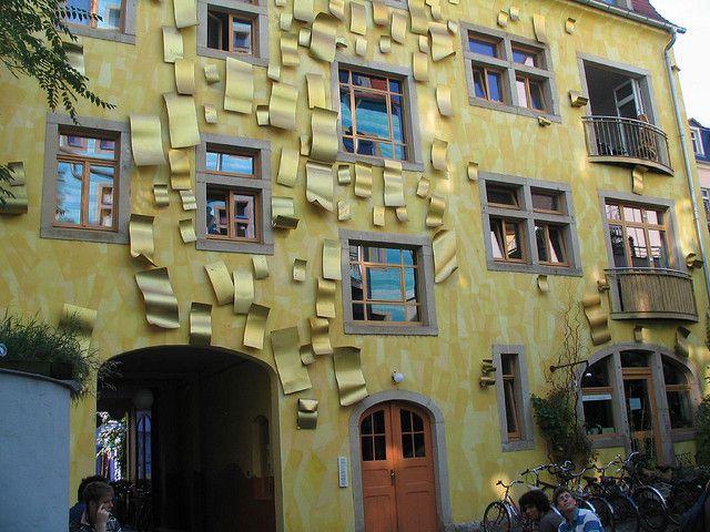 immeuble insolite Dresden