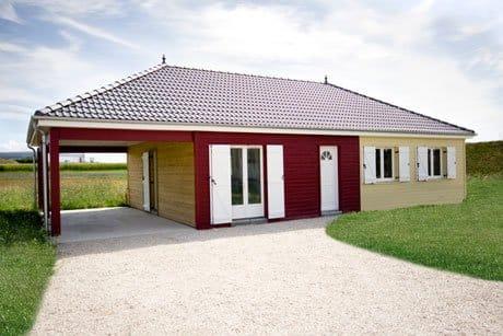 La maison à ossature bois par Babeau-Seguin