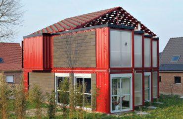 construire une maison container