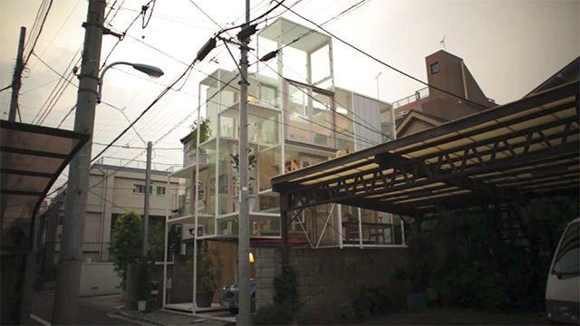 maison insolite tokyo