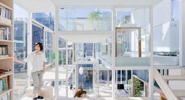 maison insolite transparente