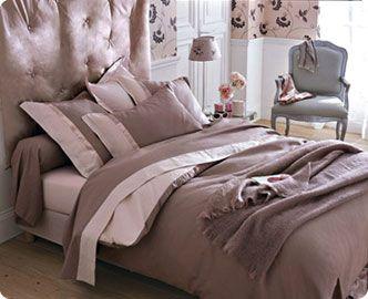 La parure de lit du boudoir