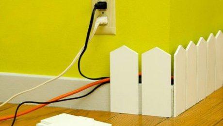 cacher cables maison