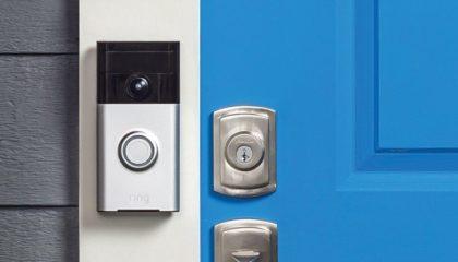 ring interphone vidéo connecté visiophone portier 1