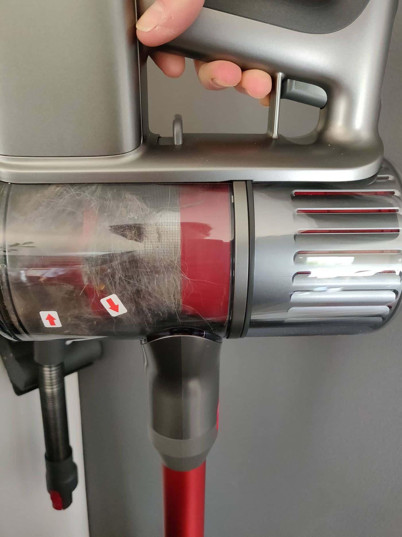 test roborock h6 aspirateur balai 2