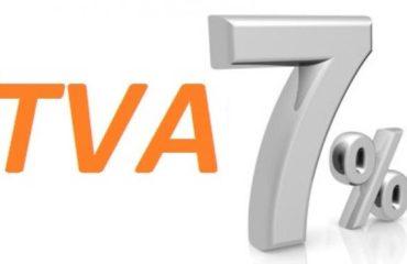 La TVA de mes travaux à 7 %